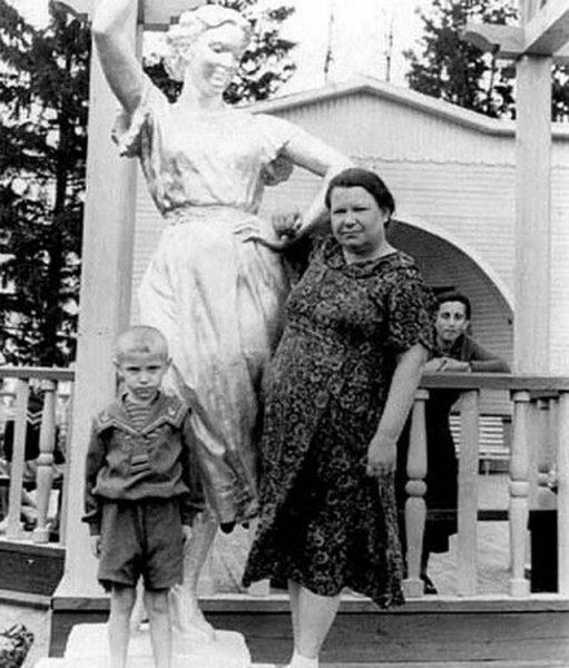 Борис Моисеев в детстве