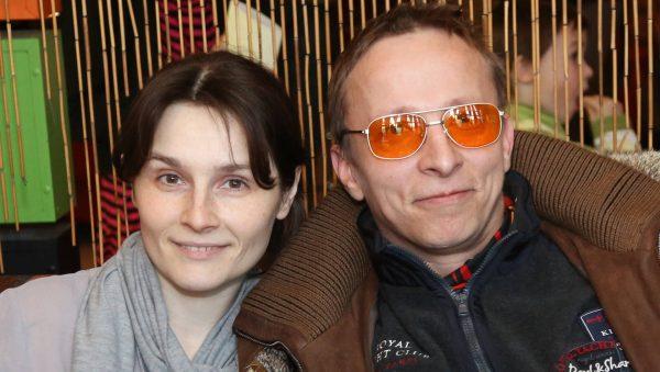 Охлобыстин с женой