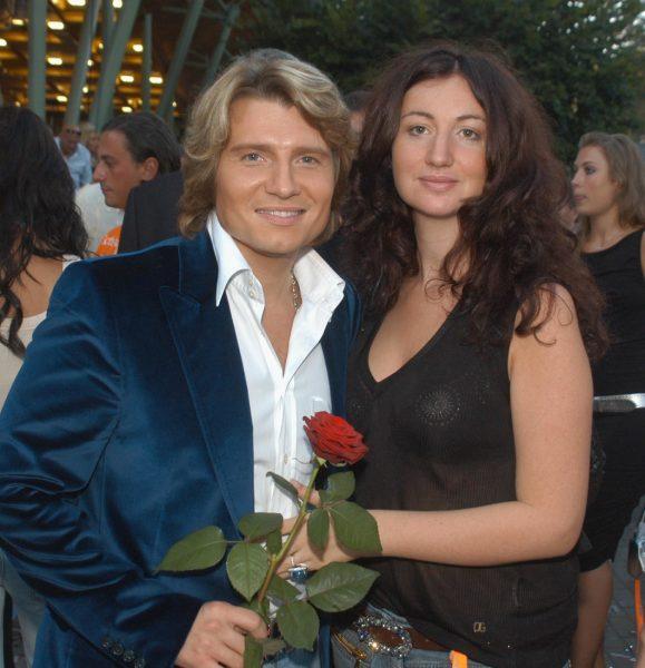 Басков с женой