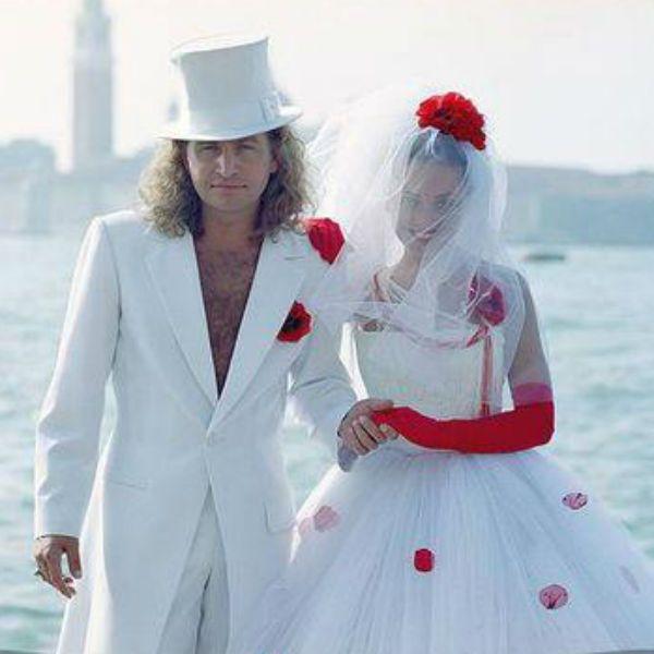 Леонид Агутин с женой
