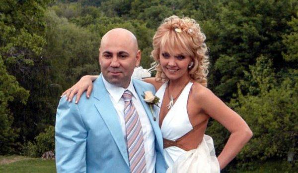 Певица Валерия с мужем