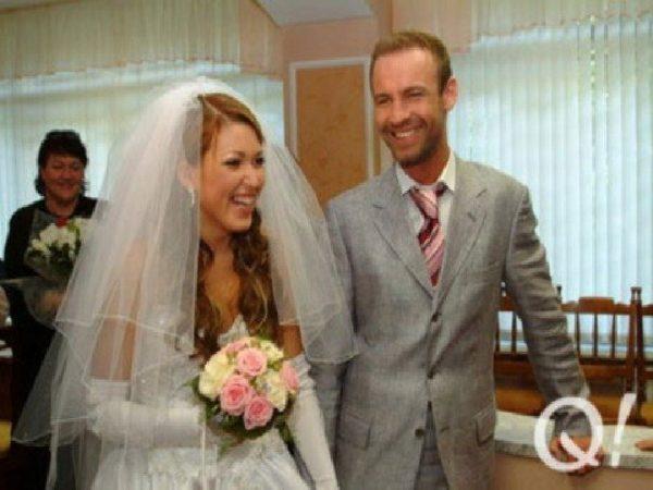 Ирина Дубцова с мужем