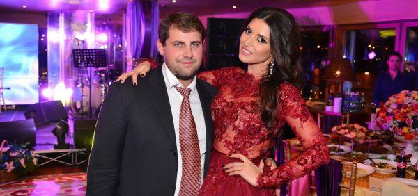 Певица Жасмин с мужем