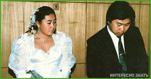 Анита Цой на свадьбе