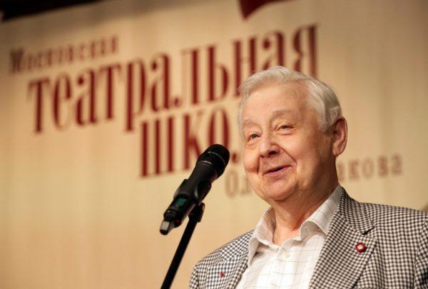 Выступление Олега Табакова
