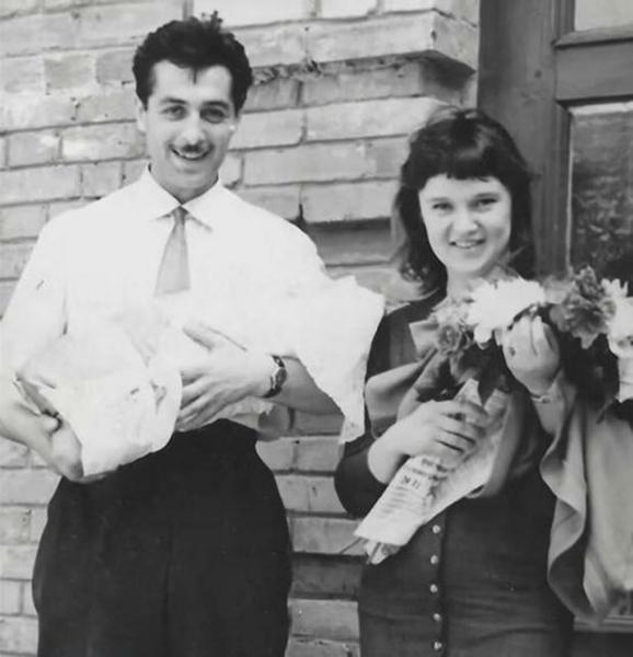 Людмила Гурченко с мужем в молодости