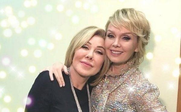 Успенская и Валерия