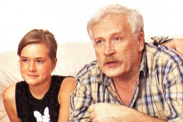Борис Невзоров с дочкой Полиной