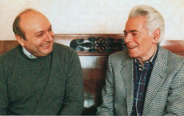 Михаил Жванецкий и Аркадий Райкин