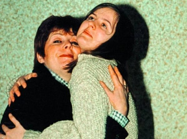 Клара Новикова с дочерью