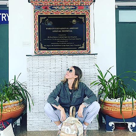 Ксения Собчак в Бутане
