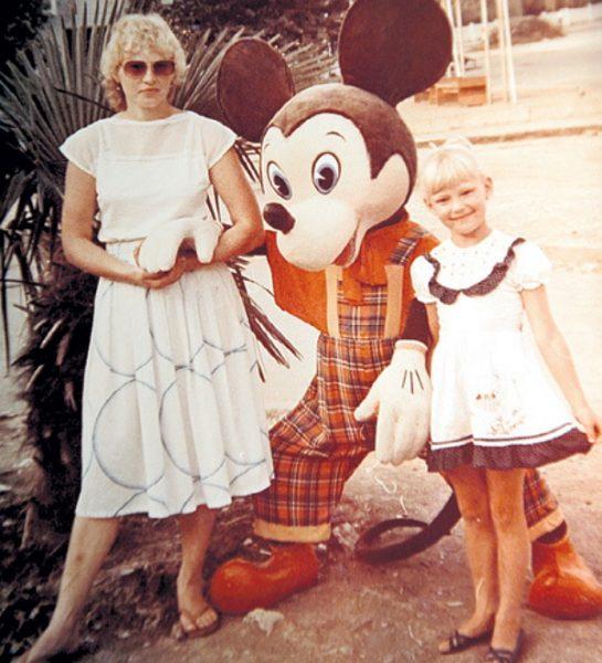 Ходченкова с мамой