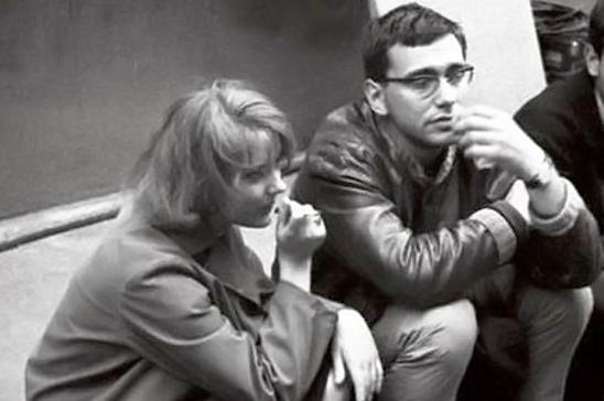 Марианна Вертинская и Андрей Кончаловский