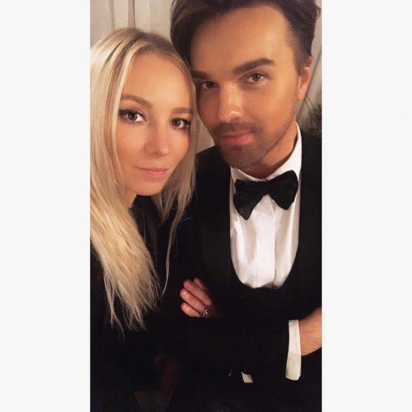 Александр Панайотов с женой