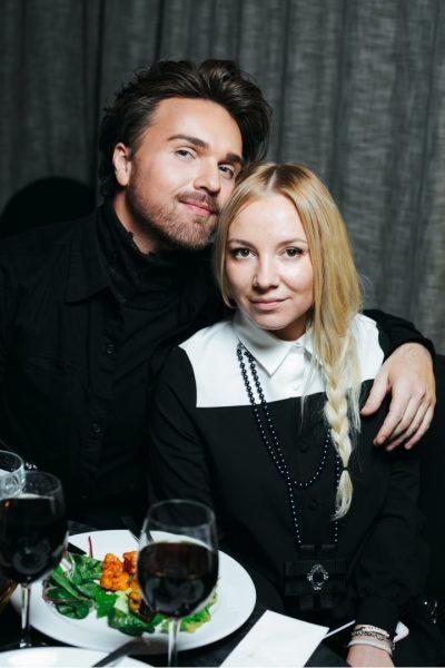 Александр Панайотов с женой,