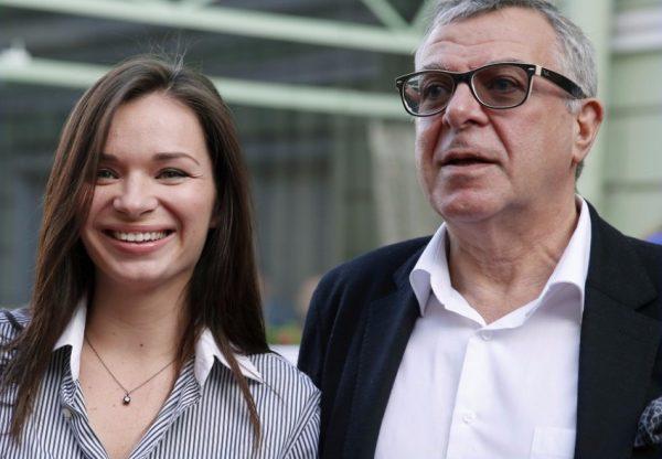 Андрей Ургант и Елена Романова,
