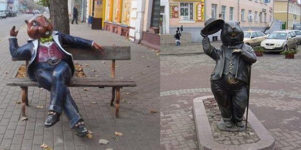 Бобры в Бобруйске