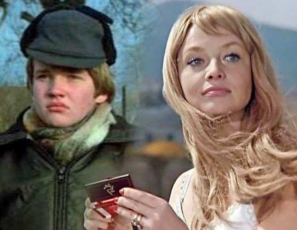 Наталья Кустинская и ее сын Дмитрий Егоров