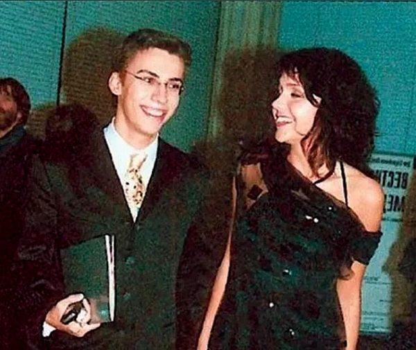 Максим Галкин с Анастасией Чернобровиной