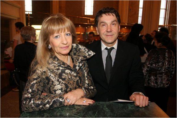 Маковецкий с женой