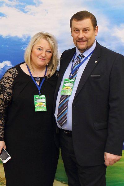 Алина и Олег Будивские