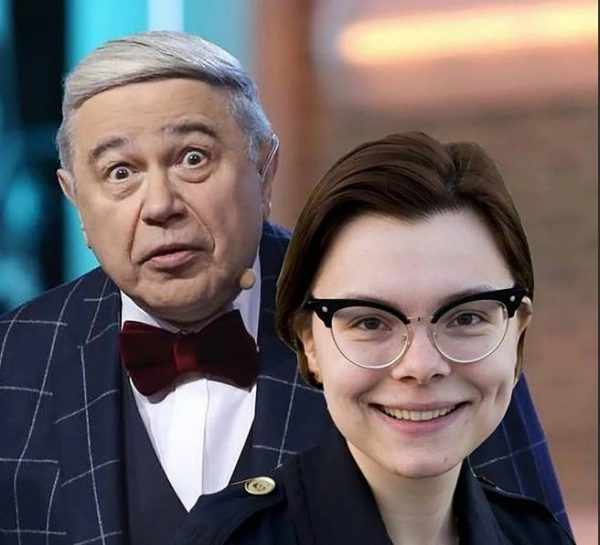 Татьяна Бурхунова и Евгений Петросян