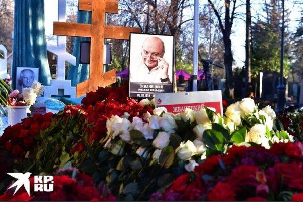 Могила Михаила Жванецкого