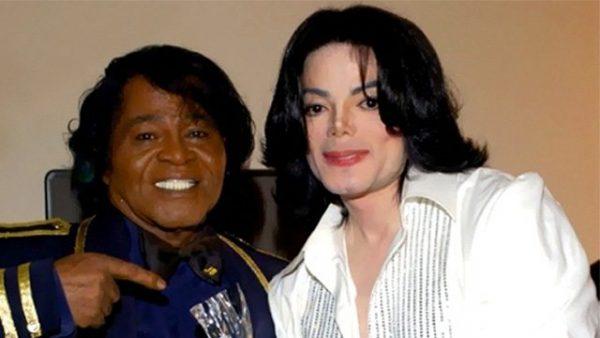 Майкл Джексон и Джеймс Браун