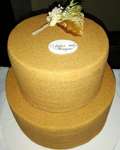 Именинный торт Натальи