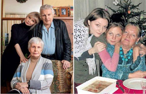Две семьи Юрия Назарова