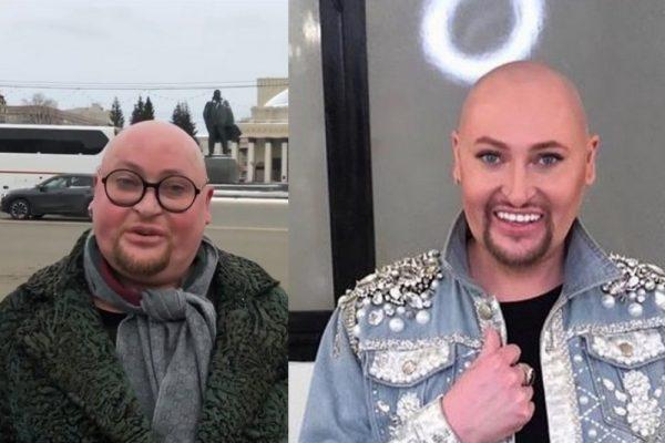 Шура до и после похудения