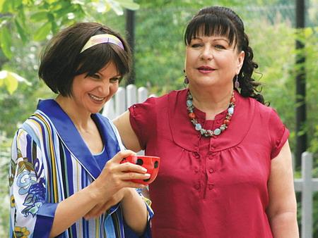 Татьяна Кравченко и Людмила Артемьева
