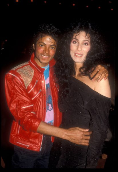 Майкл Джексон и Шер