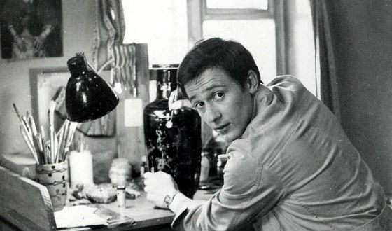 Олег Меньшиков в молодости