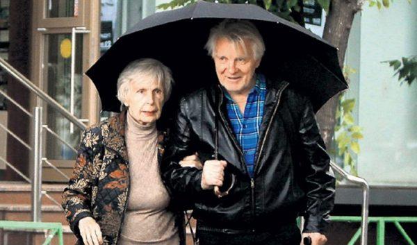 Юрий Назаров с первой женой Татьяной