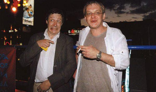 Михаил Ефремов и Михаил Горевой
