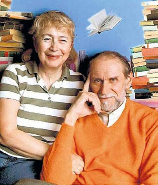 Виктор Коклюшкин и Эльга Злотник