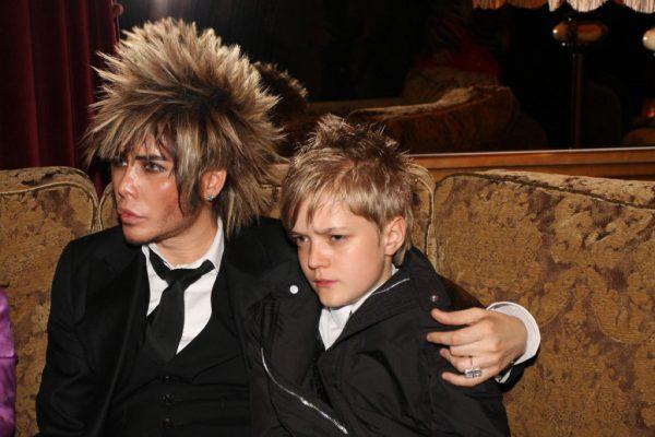 Сергей Зверев с сыном.