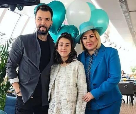 Ева Польна, Денис Клявер и их дочь
