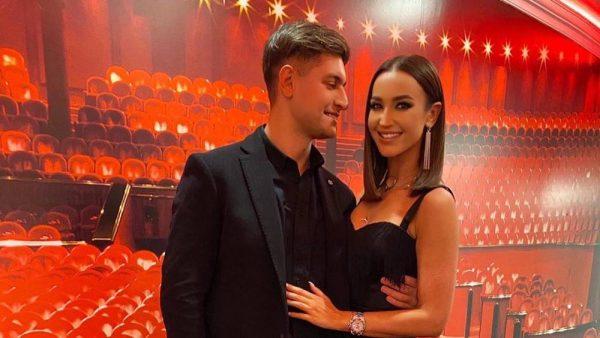 Ольга Бузова с парнем