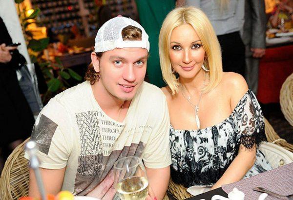 Лера Кудрявцева с молодым мужем