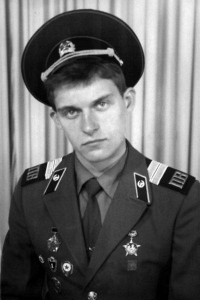 Олег Тиньков в военной форме