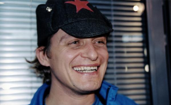 Олег Тиньков в пилотке