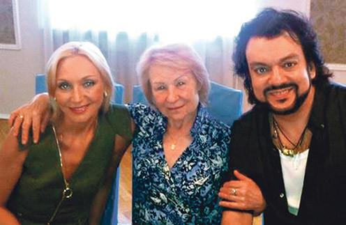 Филипп Киркоров с Люсей и Орбакайте