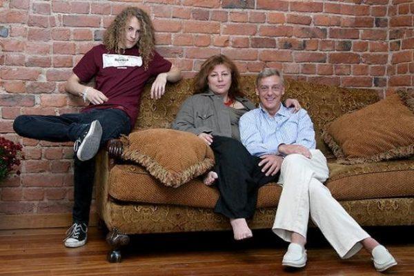 Семейное фото Александра Половцева
