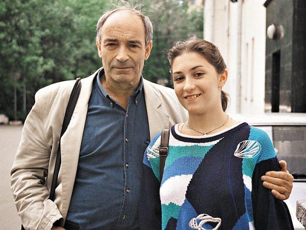 Валентин Гафт с дочерью