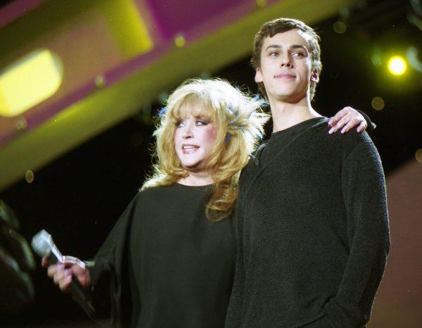 Галкин и Пугачева в молодости