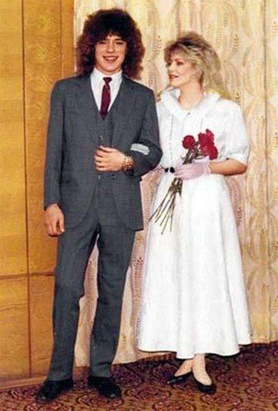 Белоусов и Ветлицкая на свадьбе