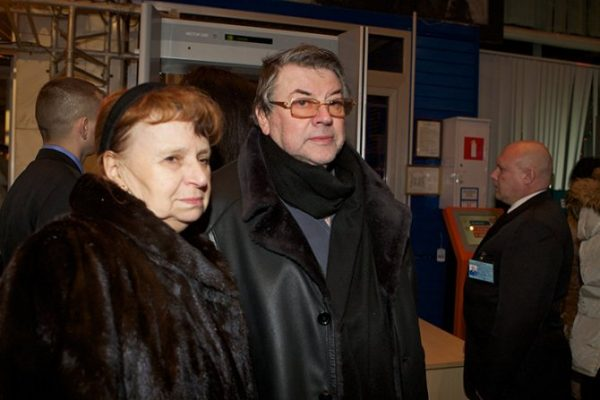 Ширвиндт с женой