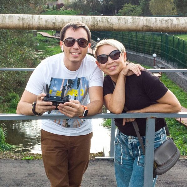 Родион Газманов с мамой